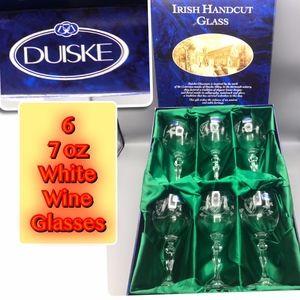 Duiske Maeve Suite White Wine Glasses 7oz